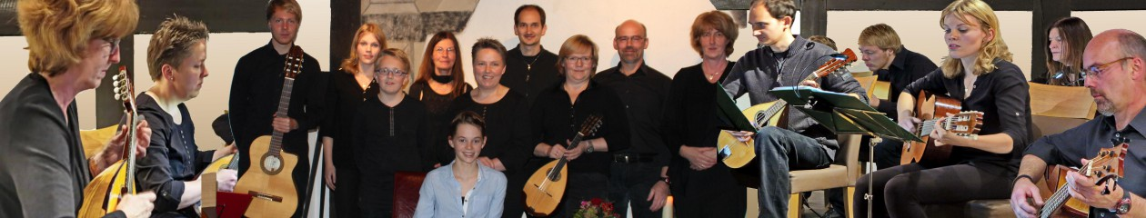 Mandolinen-Ensemble Taktgefühl